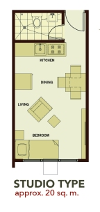 Studio-Unit-Floor-Plan