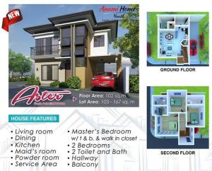 aster model house in consolacion
